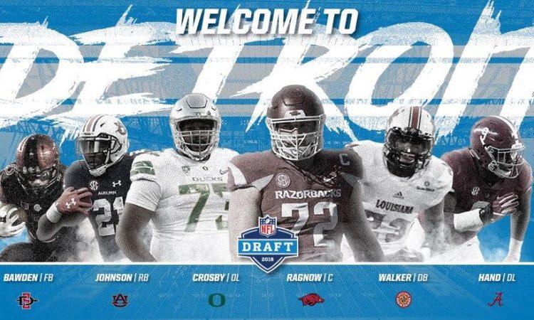 Lions 2018 draft class